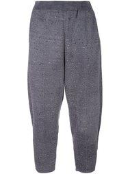 укороченные брюки свободного кроя Boboutic