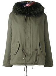 куртка с меховым воротником Forte Couture