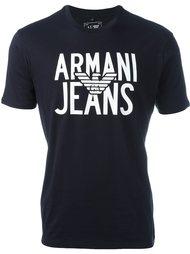 футболка с логотипом Armani Jeans