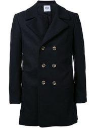 двубортное пальто Wan Hung