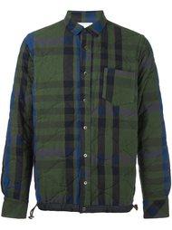 стеганая куртка-рубашка Sacai
