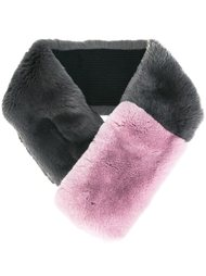 шарф колор-блок  N.Peal