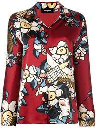 пижамная рубашка 'Cherry Blossom' Dsquared2