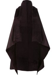 sleeveless cape Giorgio Brato