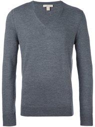 свитер c V-образным вырезом   Burberry