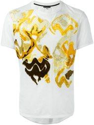 фактурная футболка с короткими рукавами Ann Demeulemeester