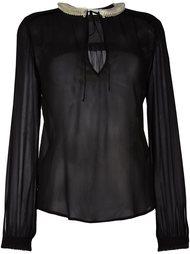 прозрачная блузка Veronique Branquinho