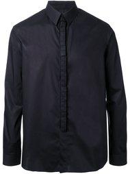 рубашка с объемной геометрической отделкой Wan Hung