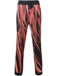 спортивные штаны с рисунком Nicopanda