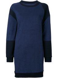 платье-толстовка с панельным дизайном Mm6 Maison Margiela