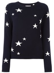 свитер с принтом звезд  Chinti And Parker