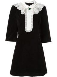 платье с оборками  Vivetta
