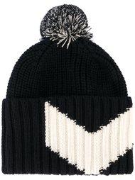 шапка-бини с помпоном  Moncler Gamme Bleu