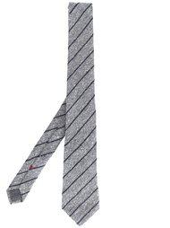 галстук в диагональную полоску Brunello Cucinelli