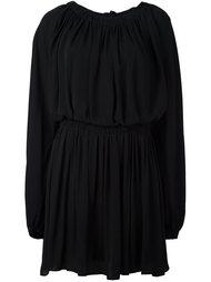 плиссированное расклешенное платье  McQ Alexander McQueen