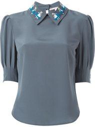 блузка с аппликацией  Olympia Le-Tan