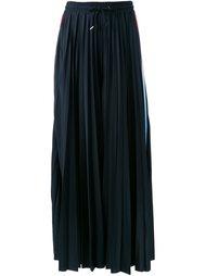 плиссированные широкие брюки  MSGM
