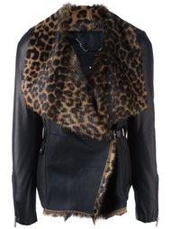куртка с искусственным мехом Barbara Bui