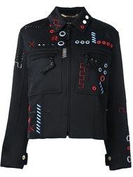 куртка бомбер с вышивкой Versace