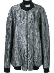 куртка-бомбер свободного кроя Strateas Carlucci