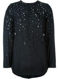 перфорированная блузка  Proenza Schouler