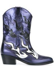 ботинки в стиле вестерн Chiara Ferragni