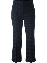 polka dot cropped trousers Ps By Paul Smith