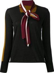 блузка с V-образным вырезом Tomas Maier