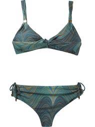 abstract print bikini set Lygia & Nanny