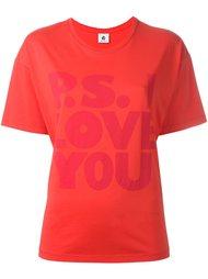 футболка P.S. I love you  Ps By Paul Smith