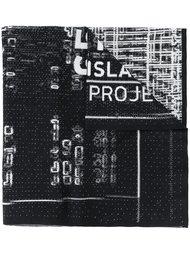 шарф с принтом-логотипом Stone Island Shadow Project