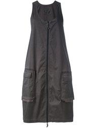 расклешенное платье на молнии Rundholz