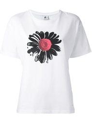 футболка с принтом цветка  Ps By Paul Smith