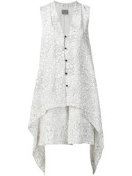 printed button dress  Maiyet
