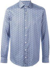 """рубашка с мелким узором """"пейсли"""" Etro"""