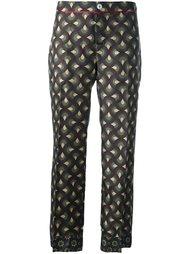 укороченные брюки с узором For Restless Sleepers
