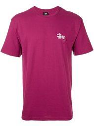 футболка с принтом логотипа   Stussy
