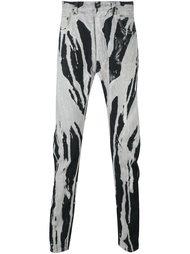 брюки 'Bleach Vomit' Rick Owens DRKSHDW
