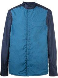 спортивная куртка с контрастными рукавами Qasimi