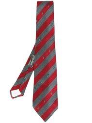 жаккардовый галстук с принтом пальм Yves Saint Laurent Vintage