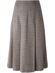 плиссированная юбка Burberry Vintage