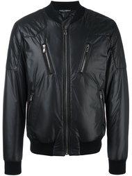 куртка бомбер со стеганой отделкой Dolce & Gabbana