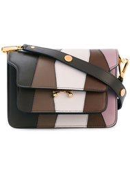 полосатая сумка на плечо  'Trunk'  Marni