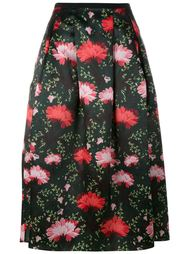 юбка с цветочным принтом   Erdem
