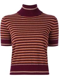 полосатый свитер с короткими рукавами I'M Isola Marras