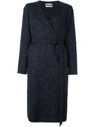 пальто с поясом Hache