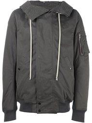 куртка на молнии с капюшоном Rick Owens DRKSHDW