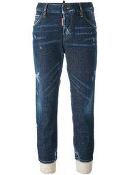 укороченные джинсы 'Cool Girl' Dsquared2