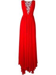платье с кружевной панелью Christian Pellizzari