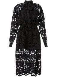 кружевное платье-рубашка Nº21